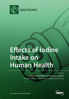 Special issue Effects of Iodine Intake on Human Health book cover image