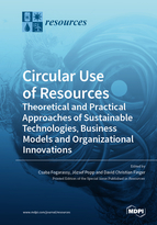 Special issue Circular Use of Resources - Theoretical and Practical Approaches of Sustainable Technologies, Business Models and Organizational Innovations book cover image