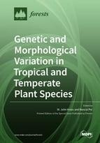 Genetic and Morphological Variation in Tropical and Temperate Plant Species