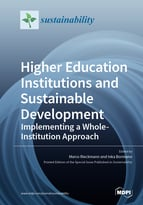 Special issue Higher Education Institutions and Sustainable Development – Implementing a Whole-Institution Approach book cover image