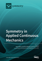 Special issue Symmetry in Applied Continuous Mechanics book cover image