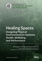 Special issue Healing Spaces: Designing Physical Environments to Optimize Health, Wellbeing and Performance book cover image