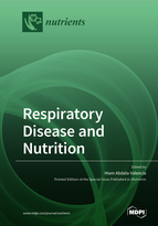 Special issue Respiratory Disease and Nutrition book cover image