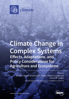 Special issue Climate Change in Complex Systems: Effects, Adaptations, and Policy Considerations for Agriculture and Ecosystems book cover image