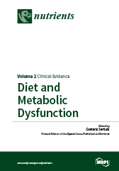 Diet and Metabolic Dysfunction Volume 2