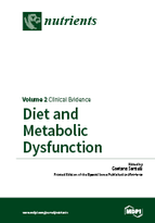Special issue Diet and Metabolic Dysfunction book cover image