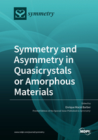 Symmetry and Asymmetry in Quasicrystals or Amorphous Materials