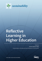 Special issue Reflective Learning in Higher Education book cover image