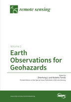 Special issue Earth Observations for Geohazards book cover image