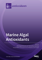 Special issue Marine Algal Antioxidants book cover image