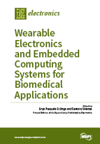 Special issue Wearable Electronics and Embedded Computing Systems for Biomedical Applications book cover image
