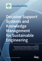 Special issue Decision Support Systems and Knowledge Management for Sustainable Engineering book cover image