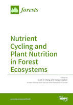 Special issue Nutrient Cycling and Plant Nutrition in Forest Ecosystems book cover image