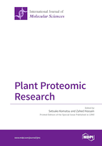 Special issue Plant Proteomic Research book cover image