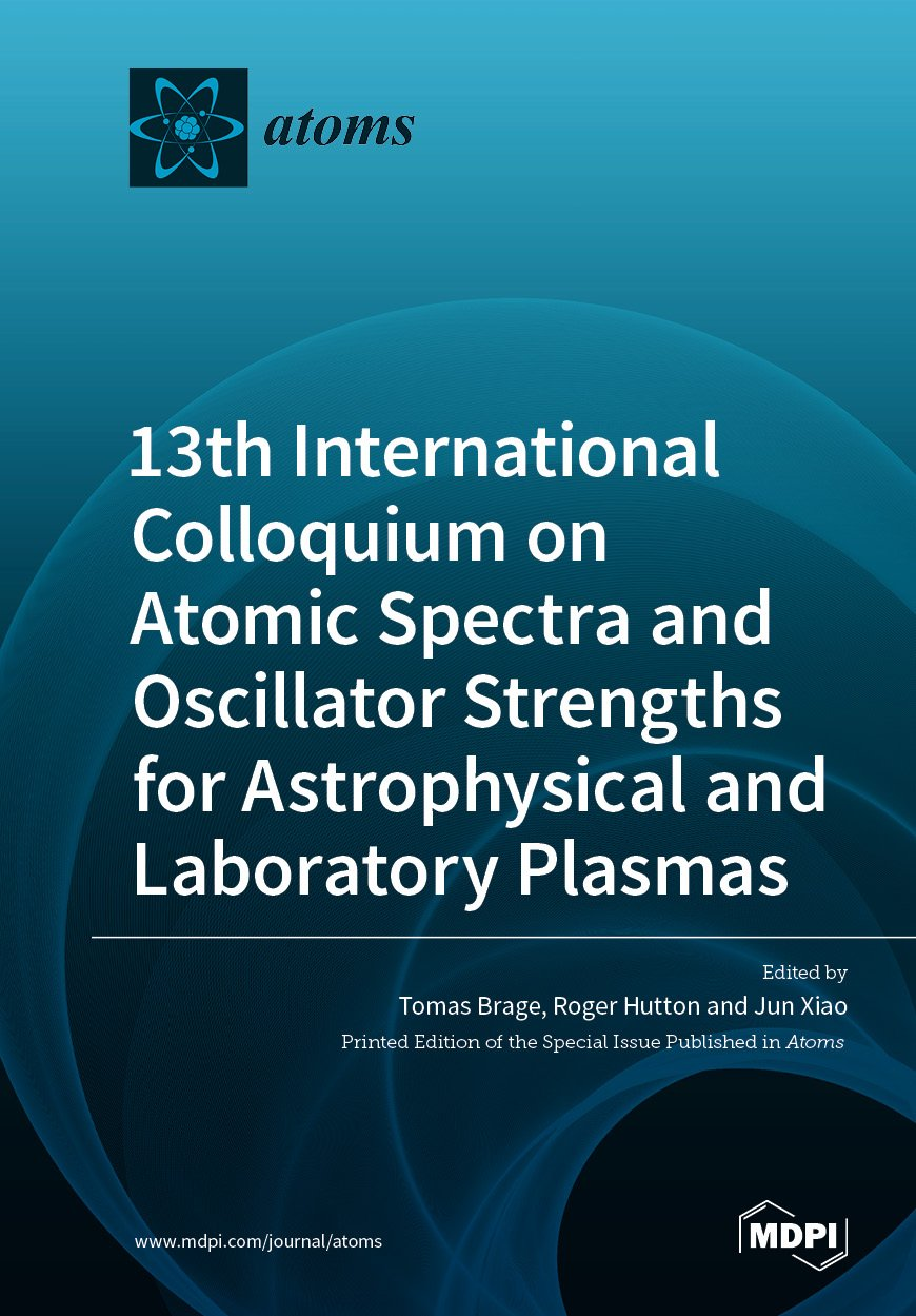 13th International Colloquium on Atomic Spectra and Oscillator Strengths for Astrophysical and Laboratory Plasmas