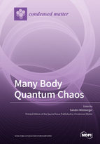 Special issue Many Body Quantum Chaos book cover image