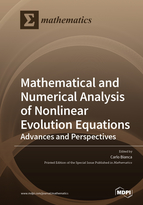 Special issue Mathematical and Numerical Analysis of Nonlinear Evolution Equations : Advances and Perspectives book cover image