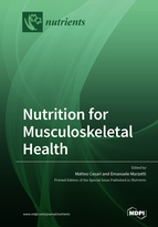 Special issue Nutrition for Musculoskeletal Health book cover image