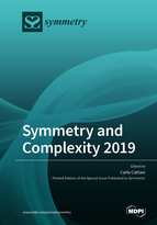 Special issue Symmetry and Complexity 2019 book cover image