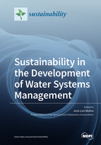 Special issue Sustainability in the Development of Water Systems Management book cover image