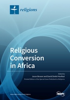 Special issue Religious Conversion in Africa book cover image