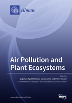 Special issue Air Pollution and Plant Ecosystems book cover image