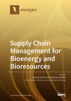 Special issue Supply Chain Management for Bioenergy and Bioresources book cover image