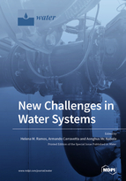 Special issue New Challenges in Water Systems book cover image