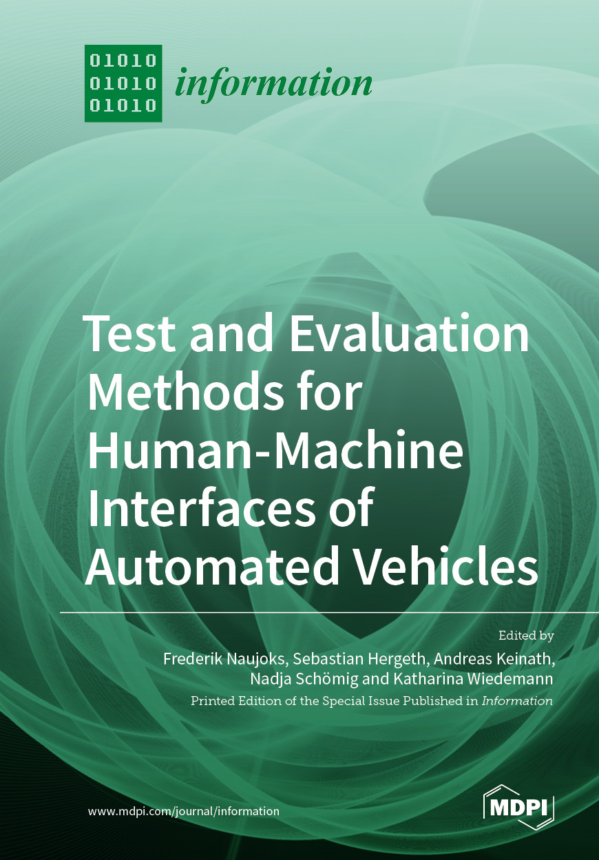 Test and Evaluation Methods for Human-Machine Interfaces of Automated Vehicles
