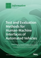 Special issue Test and Evaluation Methods for Human-Machine Interfaces of Automated Vehicles book cover image
