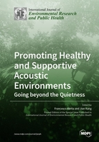Special issue Promoting Healthy and Supportive Acoustic Environments: Going beyond the Quietness book cover image