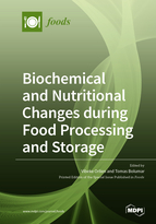 Special issue Biochemical and Nutritional Changes during Food Processing and Storage book cover image