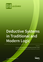 Special issue Deductive Systems in Traditional and Modern Logic book cover image