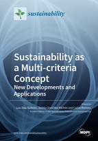 Special issue Sustainability as a Multi-criteria Concept: New Developments and Applications book cover image