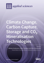 Special issue Climate Change, Carbon Capture, Storage and CO2 Mineralisation Technologies book cover image