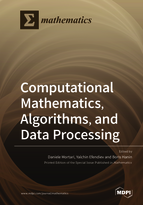 Special issue Computational Mathematics, Algorithms, and Data Processing book cover image