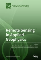 Special issue Remote Sensing in Applied Geophysics book cover image