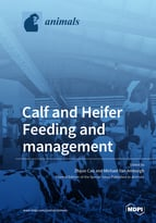 Special issue Calf and Heifer Feeding and Management book cover image