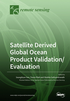 Special issue Satellite Derived Global Ocean Product Validation/Evaluation book cover image