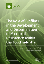 Special issue The Role of Biofilms in the Development and Dissemination of Microbial Resistance within the Food Industry book cover image