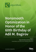 Special issue Nonsmooth Optimization in Honor of the 60th Birthday of Adil M. Bagirov book cover image