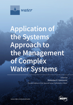 Special issue Application of the Systems Approach to the Management of Complex Water Systems book cover image