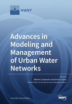 Special issue Advances in Modeling and Management of Urban Water Networks book cover image