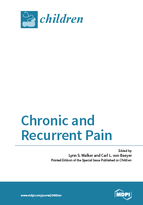 Special issue Chronic and Recurrent Pain book cover image