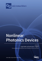 Special issue Nonlinear Photonics Devices book cover image