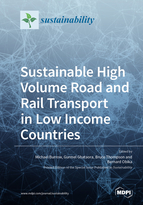 Special issue Sustainable High Volume Road and Rail Transport in Low Income Countries book cover image