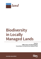 Special issue Biodiversity in Locally Managed Lands book cover image