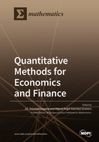 Special issue Quantitative Methods for Economics and Finance book cover image