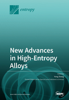 Special issue New Advances in High-Entropy Alloys book cover image