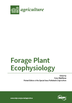 Special issue Forage Plant Ecophysiology book cover image